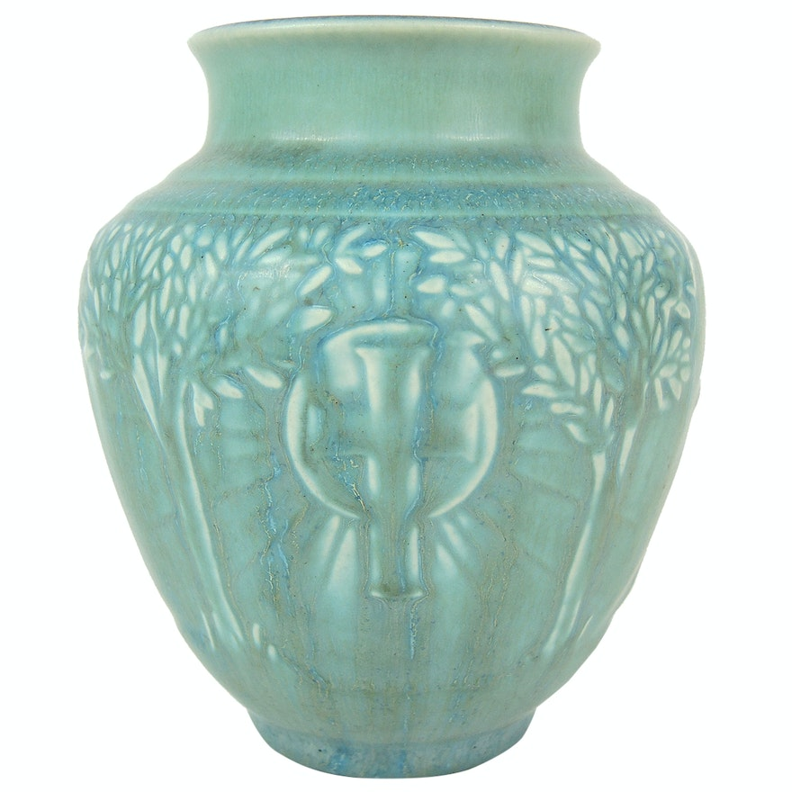 Rookwood Pottery Vase for National Conference of Catholic Charities, 1934