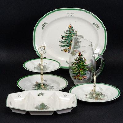 "Spode ""Christmas Tree"" Serveware"