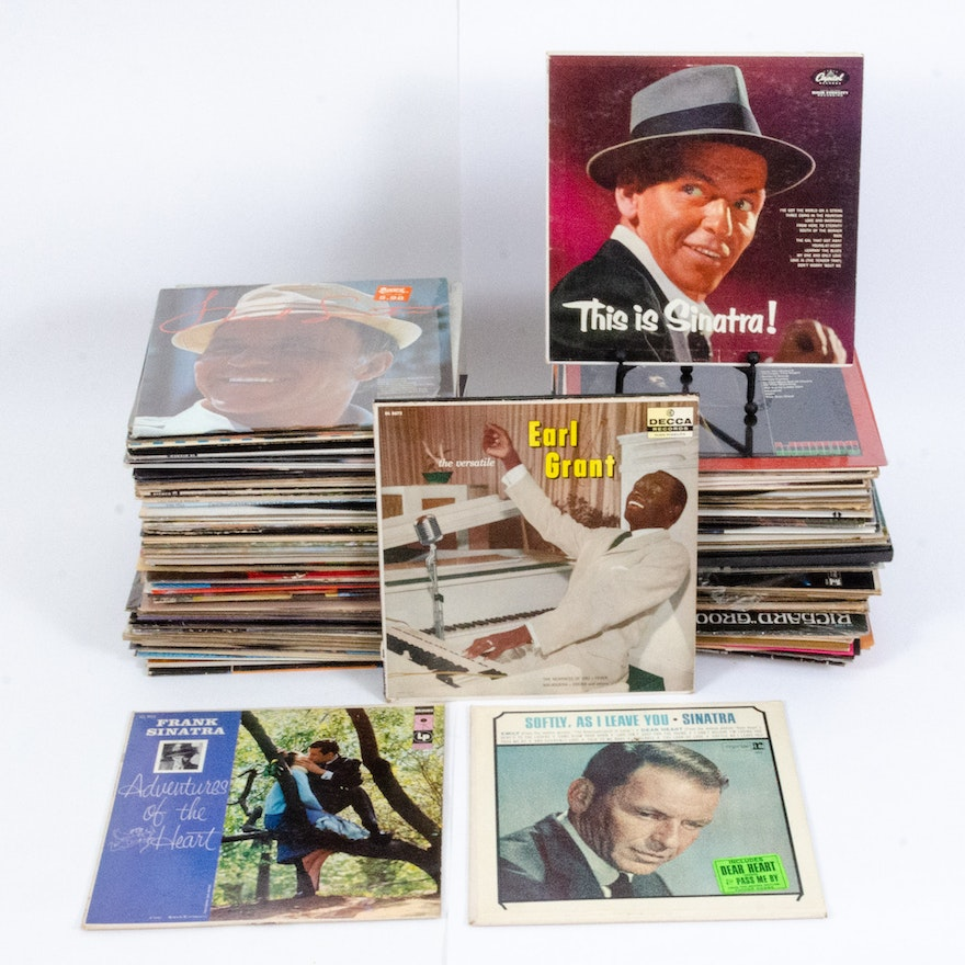 Jazz, Swing and Pop Record Albums, 1950s-1970s