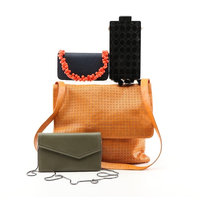 Crossbody Bag, Shoulder Bag, Minaudière, and Handbag