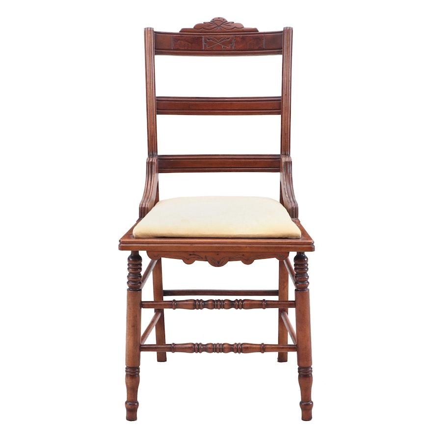 Maple Side Chair, Circa 1900
