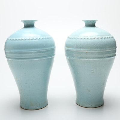 Pair of Chinese Ceramic Vases