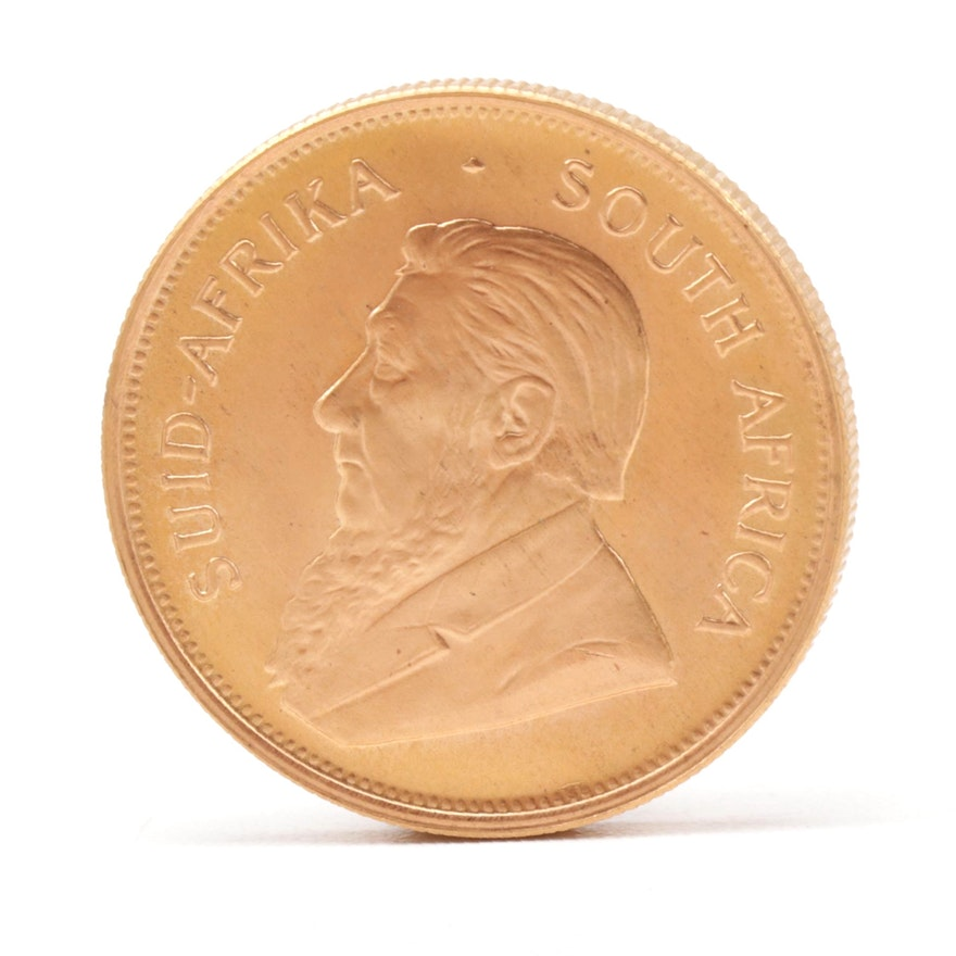 1983 South Africa One Ounce Gold Krugerrand Coin