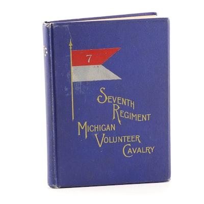 "Signed George W. Watson ""Seventh Regiment Michigan Volunteer Cavalry"""