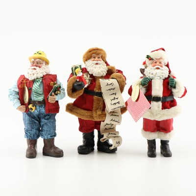 Clothique Santa Figurines
