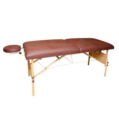 Hammacher Schlemmer Portable Massage Table