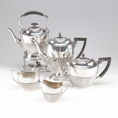 English Silver Plate Coffee and Tea Service