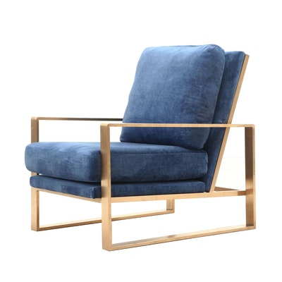 "TOV Furniture ""Ellie"" Armchair, Contemporary"