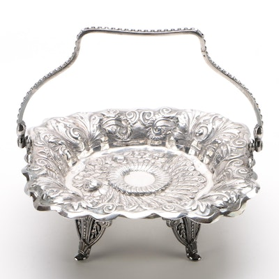 Barbour Silver Co. Quadruple Plate Bonbon Tray, Early 20th Century