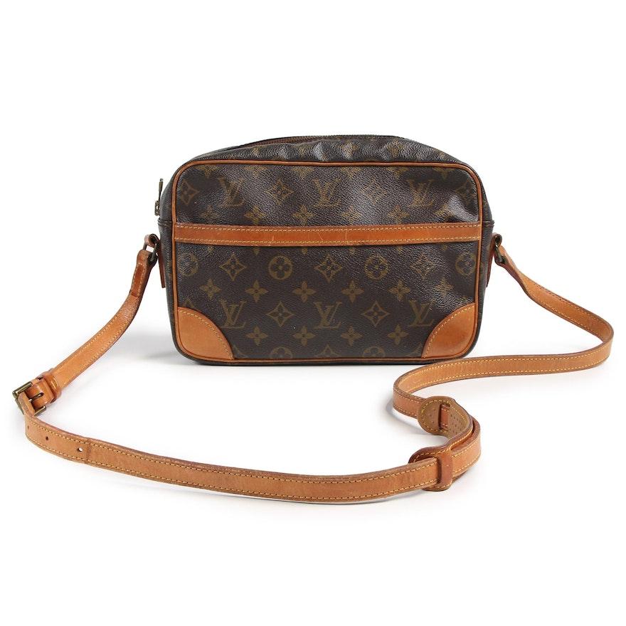 Louis Vuitton Paris Crossbody Bag in Monogram Canvas