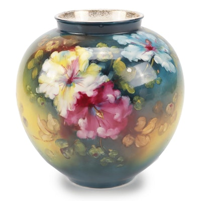 Royal Bonn Hand-Painted Porcelain Vase