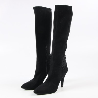 BCBGeneration Eclipse Black Heeled Tall Boots