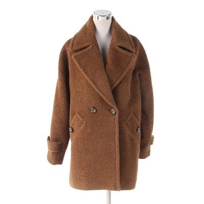 Trina Turk Wool and Alpaca Blend Coat