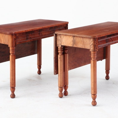 Cherry Banquet Table, Ca. 1850