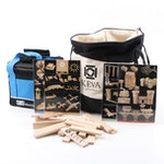 Keva Planks Building Kit with Beginner Bocce Set