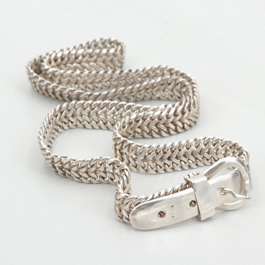 Mexican Sterling Silver Waist Belt