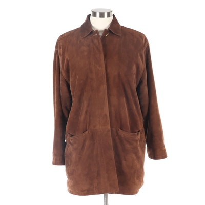 Women's Loro Piana Suede and Cashmere Jacket