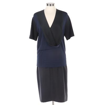 Stella McCartney Blouse and Escada Skirt