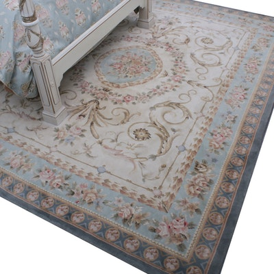 Ethan Allen Hand-Knotted Chinese Wool Area Rug