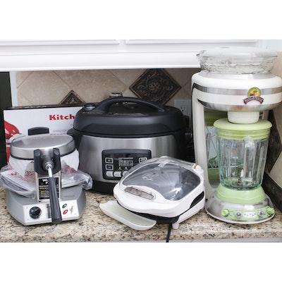 Pressure Cooker, Margarita Machine, Waffle Maker and More Kitchen Appliances