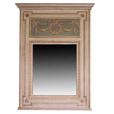Neoclassical Style Composition Pier Mirror