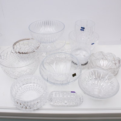 Waterford and More Crystal Serveware