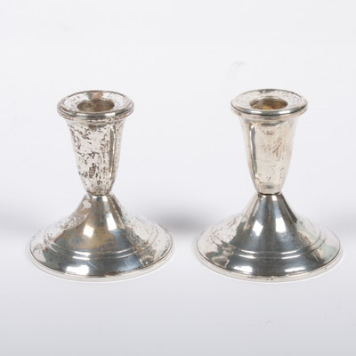Duchin Creation Weighted Sterling Silver Candlesticks