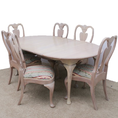 Harden Queen Anne-Style Dining Table and Chairs