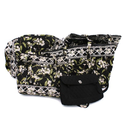 Vera Bradley Quilted Cotton Duffels, Totes, and Handbags