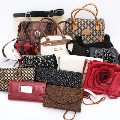Kate Landry, Liz Claiborne, and More Handbags and Evening Bags