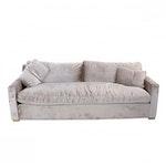 "Restoration Hardware, ""Belgian Track Arm"" Custom-Upholstered Luxe Sofa"
