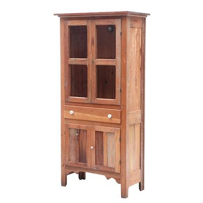Mixed Wood Cupboard, Circa 1900