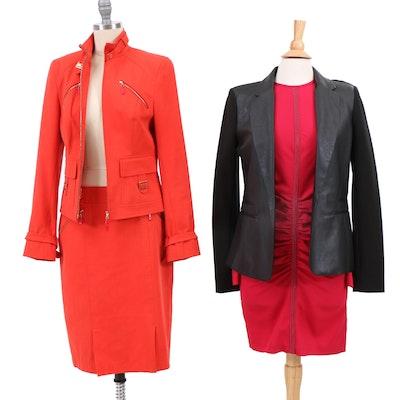 Escada Skirt Suit, MICHAEL Michael Kors Black Blazer, Cut25 Yigal Azrouël Dress