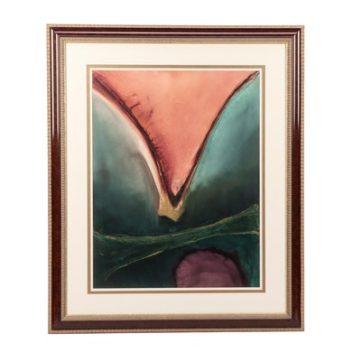Lori Cullman Abstract Acrylic Painting