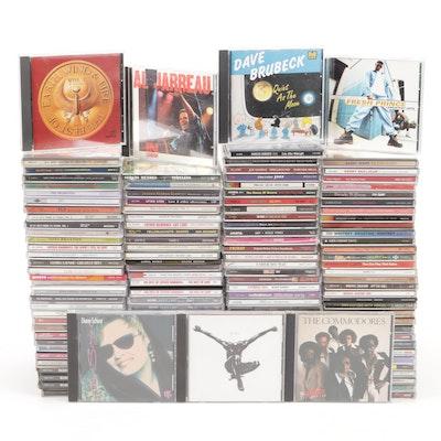 Rock, Jazz, Soul, and Blues CDs