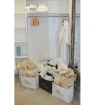 """Assortment of """"Darling Homes"""" Bags, Bath Robes and Bath Towels"""