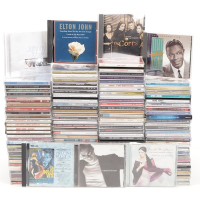 Contemporary Vocalist and Soundtrack Music CDs