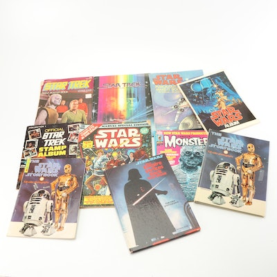 """Bronze Age """"Star Wars"""" Marvel Comics with Story Books and """"Star Trek"""""""