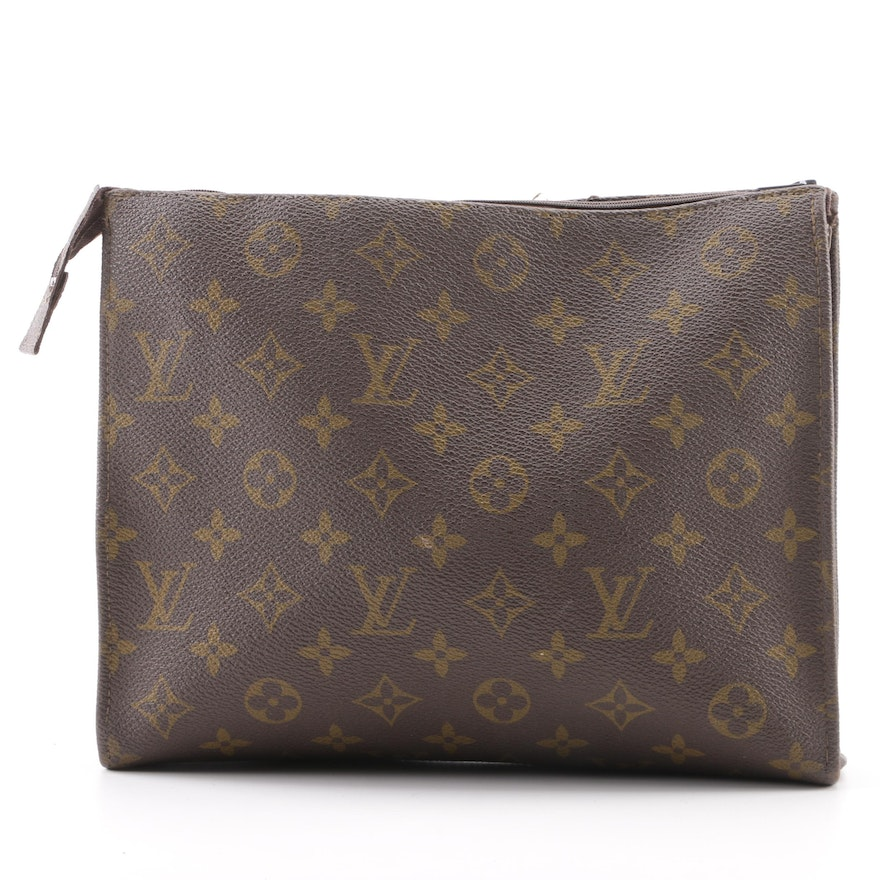 Louis Vuitton The French Company Monogram Canvas Pochette Toiletry Bag