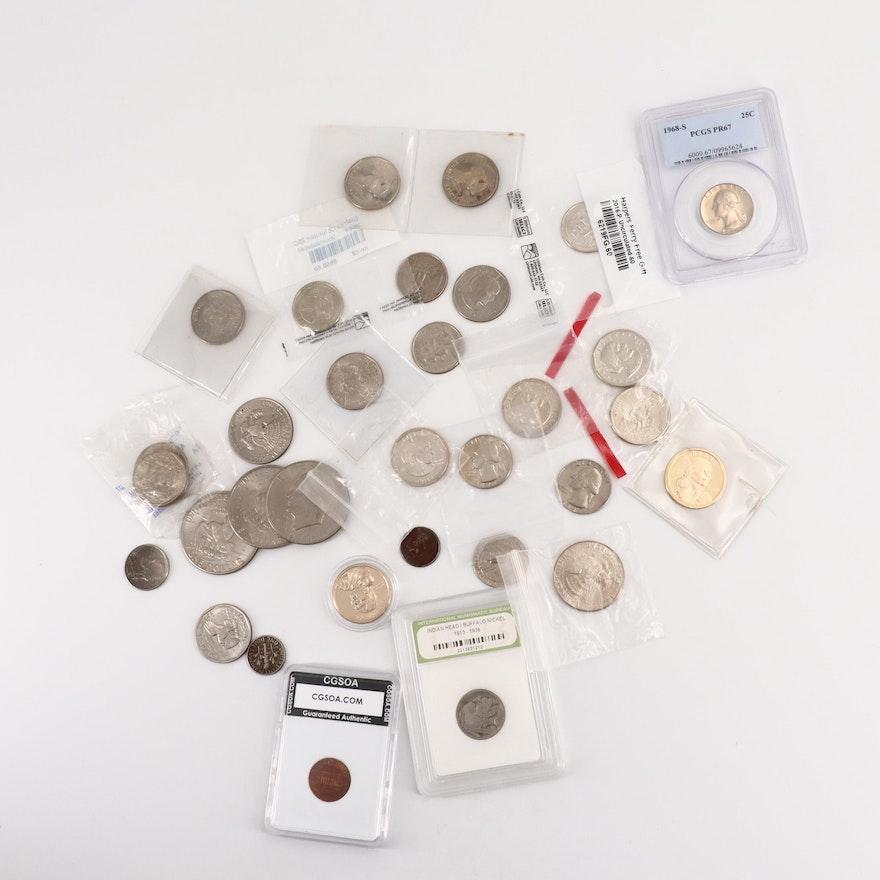 Assortment of Modern U.S. Coins