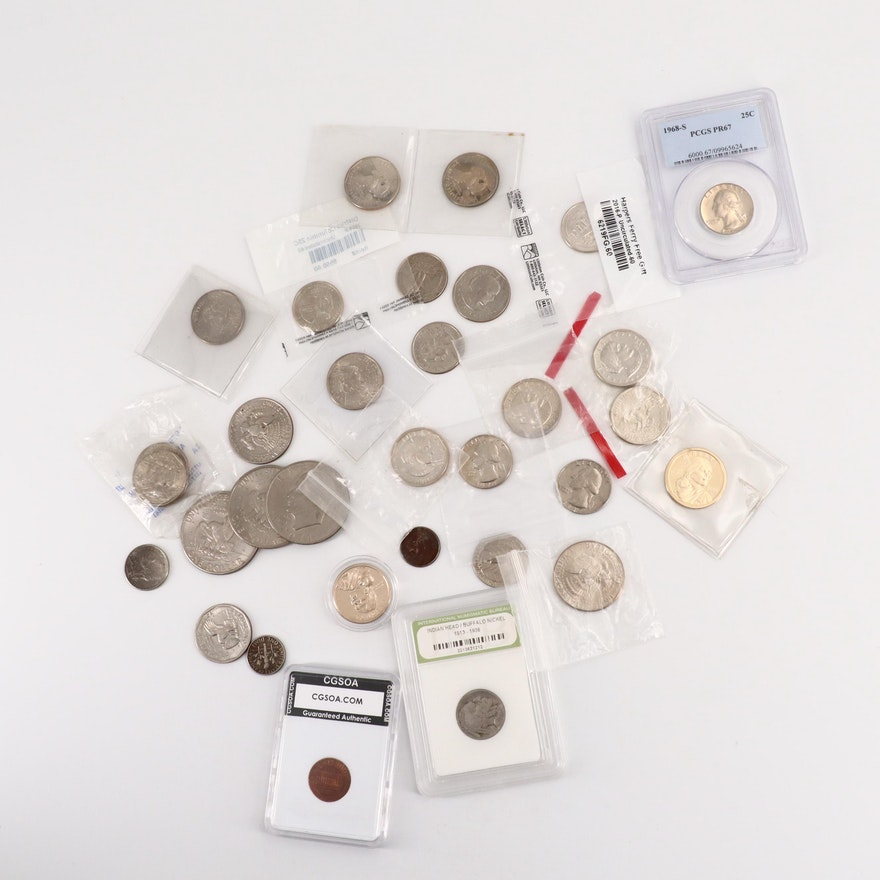 Assortment of Modern U.S. Coins