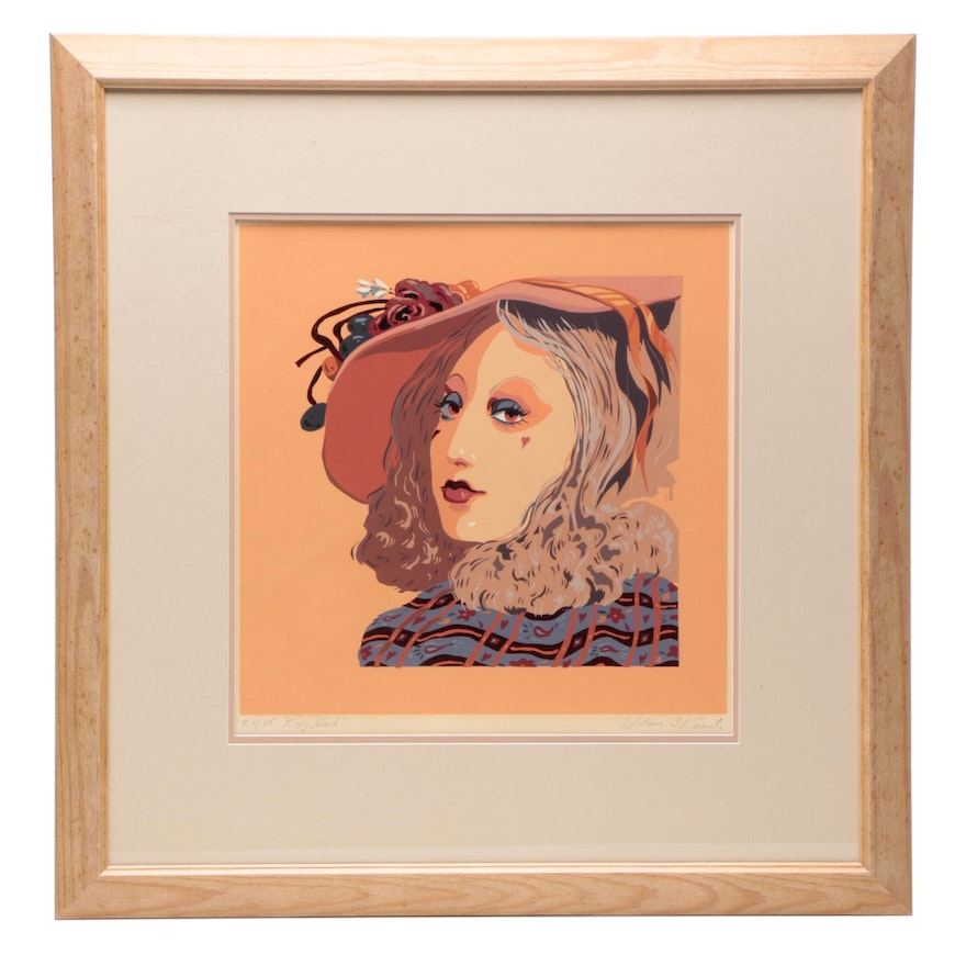 "William Renick Limited Edition Serigraph ""Roxy Heart"""