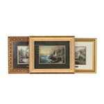 """Offset Lithographs after Thomas Kinkade """"Home is Where the Heart Is II"""""""