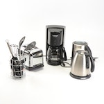 Cuisinart and Breville Kitchen Appliances with Kitchen Tools
