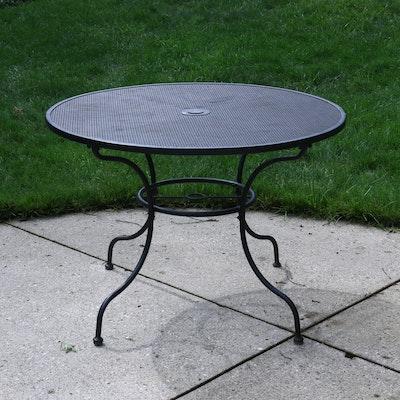 Metal Patio Table, Contemporary