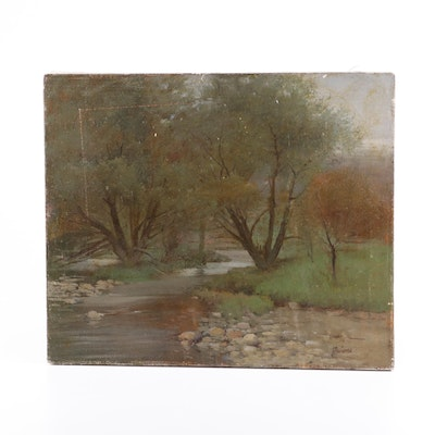 Robert Maione Landscape Oil Painting