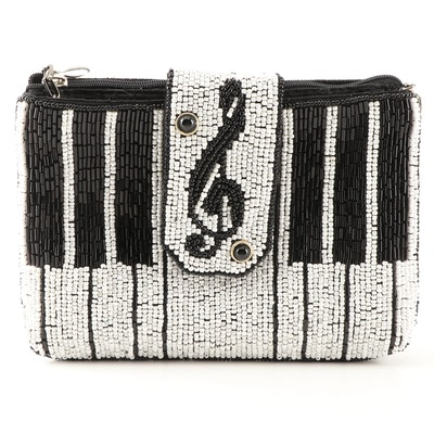"Mary Frances ""Keyed Up"" Beaded Crossbody Bag"
