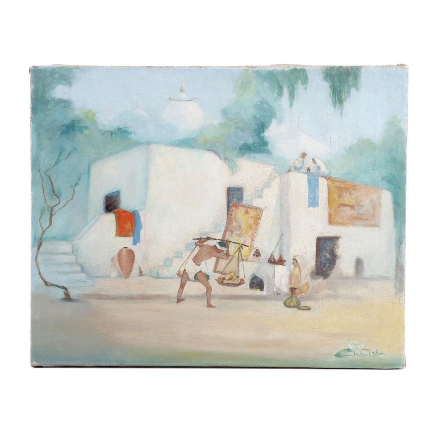 Jabal Oil Painting