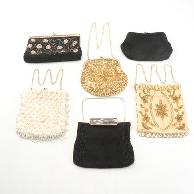Beaded Evening Bags Including La Regale, Mid-20th Century