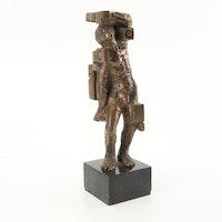Ernest Bottomley Bronze Sculpture